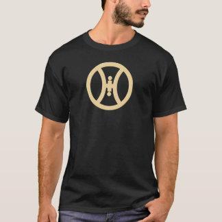 Camiseta Símbolo maravilloso del blanco de Hillbily