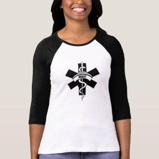 Camiseta Símbolo médico de las enfermeras