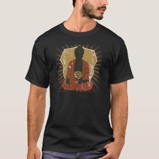 Camiseta Símbolo Meditating de Buda OM