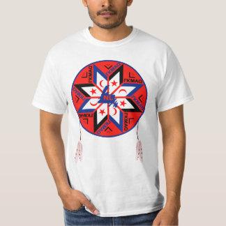 Camiseta Símbolo tripartito de Mi'kmaq