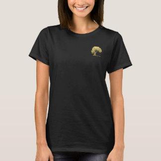 Camiseta Símbolo único Philos ambiental del árbol de la