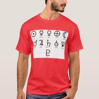 Camiseta Símbolos del planeta de la NASA