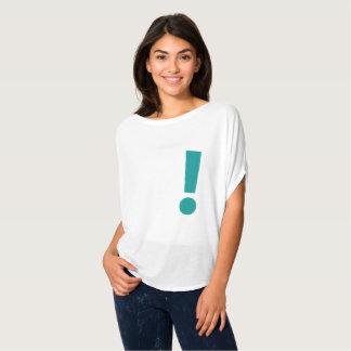 Camiseta simple del diseño gráfico de la marca de
