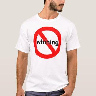 Camiseta Simple ningún gimoteo