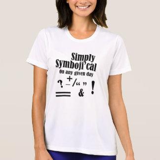 """Camiseta """"Simplemente Symboji'cal """""""