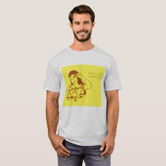 Camiseta Sin embargo, ella persistió (amarillo) (los