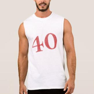 Camiseta Sin Mangas 40 años de aniversario