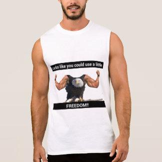 Camiseta Sin Mangas Águila de la libertad