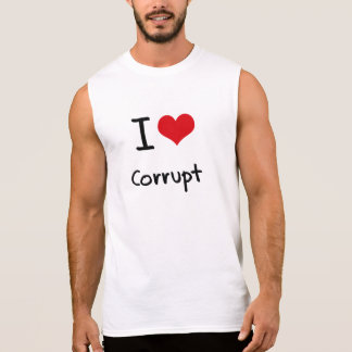 Camiseta Sin Mangas Amo corrupto