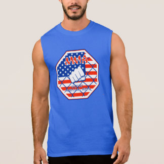 Camiseta Sin Mangas Artes marciales mezclados los E.E.U.U. del