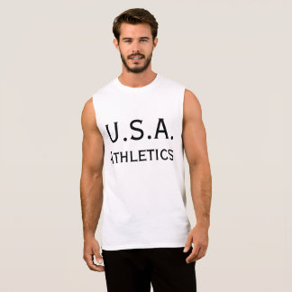 Camiseta Sin Mangas Atletismo de los E.E.U.U.