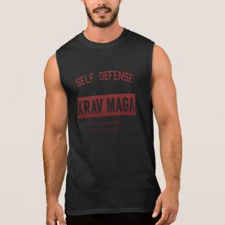 Camiseta Sin Mangas Autodefensa Krav Maga