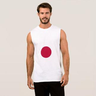 Camiseta Sin Mangas Bandera de Japón