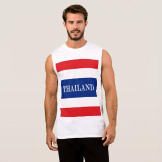 Camiseta Sin Mangas Bandera de Tailandia