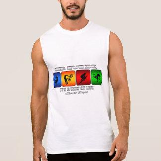 Camiseta Sin Mangas BMX fresco es una manera de vida