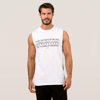 Camiseta Sin Mangas Caja fuerte conmigo el tanque del músculo de los