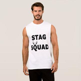 "Camiseta Sin Mangas ""Camiseta sin mangas del pelotón del macho"""
