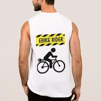 """Camiseta Sin Mangas """"Camisetas sin mangas de ciclo del jinete de"""
