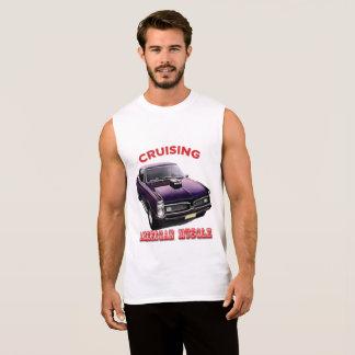 Camiseta Sin Mangas Coche americano clásico del músculo