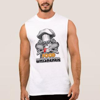 Camiseta Sin Mangas Cocinar humor: Comida Whiskerer 5