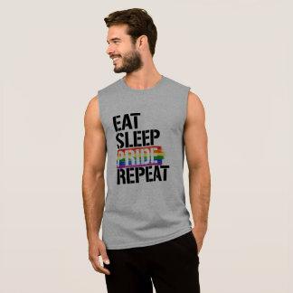 Camiseta Sin Mangas Coma la repetición del orgullo del sueño - - las