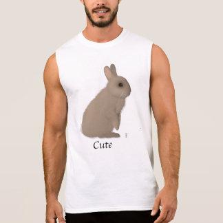 Camiseta Sin Mangas Conejo de hombres