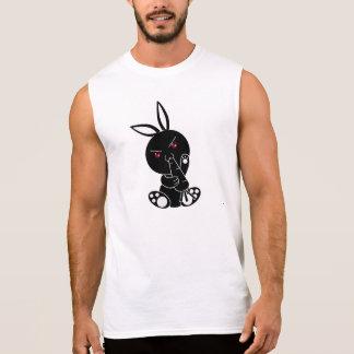 Camiseta Sin Mangas conejo negro
