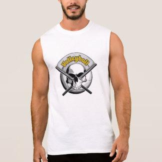 Camiseta Sin Mangas Cráneo 2 del voleibol