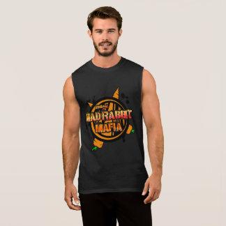 Camiseta sin mangas del algodón de los hombres