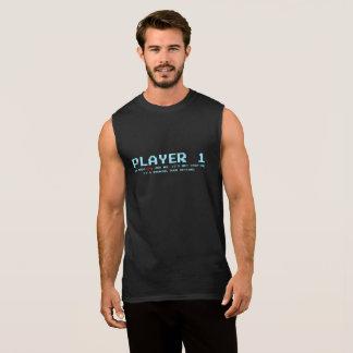 Camiseta sin mangas del algodón del jugador 1