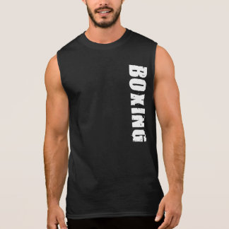 Camiseta sin mangas del boxeo