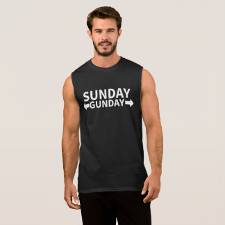 Camiseta Sin Mangas Domingo Gunday