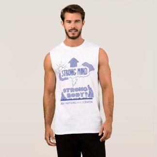 Camiseta Sin Mangas El tanque fuerte del músculo del cuerpo de la