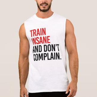 Camiseta Sin Mangas El tren insano y no se queja