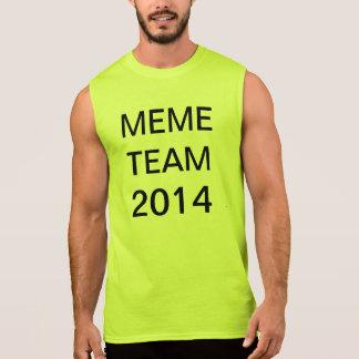 Camiseta Sin Mangas equipo 2014 del meme