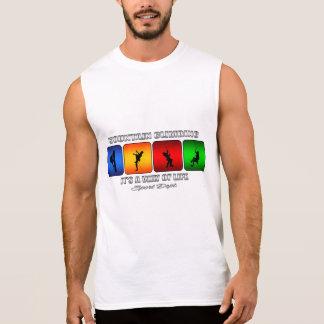 Camiseta Sin Mangas Escalada fresca es una manera de vida