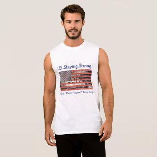 Camiseta Sin Mangas Estados Unidos señalan permanecer por medio de una