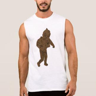 Camiseta Sin Mangas Explore siempre el diseño dibujado mano del tipo