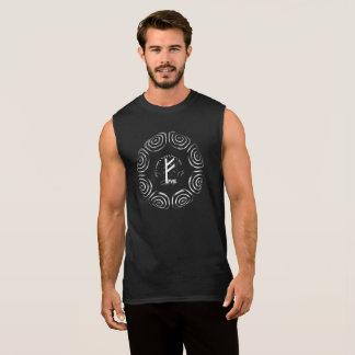 Camiseta Sin Mangas ☼Fehu - runa de la suerte y de Prosperity☼