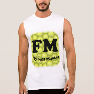 Camiseta Sin Mangas FM, amo 5.000 de Flyball