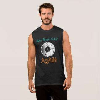 Camiseta Sin Mangas Haga MuZiK grande otra vez con el expediente de la