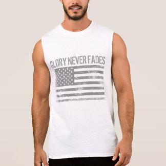 Camiseta Sin Mangas La gloria patriótica fresca nunca se descolora y