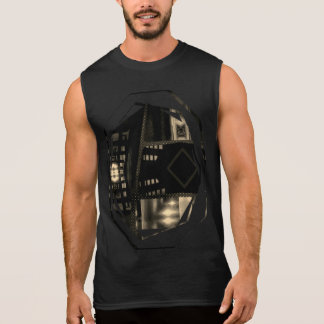 Camiseta Sin Mangas Latón LLs de Burbandy