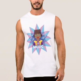 Camiseta Sin Mangas Música Remixer de DJ