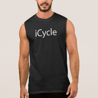 Camiseta Sin Mangas Parodia Icycle de ciclo divertido fresco de Iphone