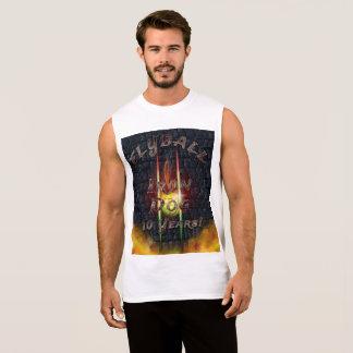 Camiseta Sin Mangas ¡Perro del hierro de Flamz Flyball - 10 años de