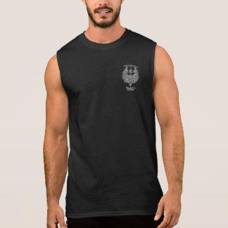 Camiseta Sin Mangas Piel de ante para anteado