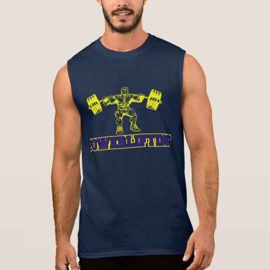 Camiseta Sin Mangas Powerlifting