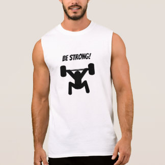 Camiseta Sin Mangas Sea fuerte