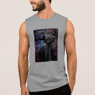 Camiseta Sin Mangas SpaceyMoose sin mangas (gris)